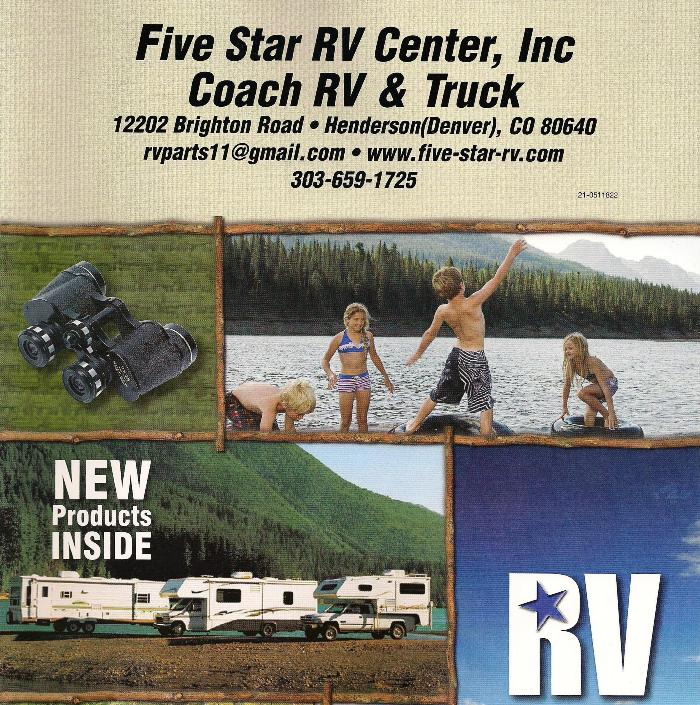 RV parts in Henderson, CO