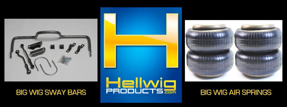Hellwig Products - Big Wig Sway Bar, Big Wig Air Springs