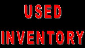 Used Inventory >> Used Inventory