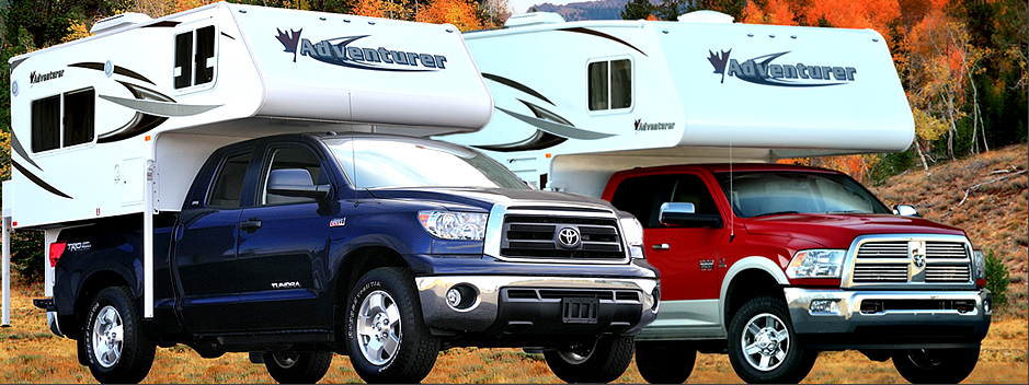 New and used truck campers for all seasons